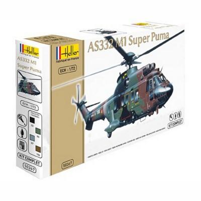 Maquette hélicoptère: Kit complet: Super Puma AS332 M1 - Heller-50367