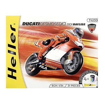 Maquette Moto: Kit complet : Ducati Desmosedici 2003 - Heller-50926