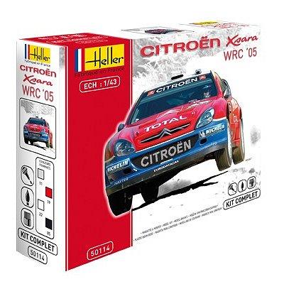Maquette voiture : Kit Complet : Citroën Xsara WRC '05 Rallye de Turquie - Heller-50114