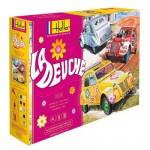 Maquettes voitures: Kit complet: La Deuche