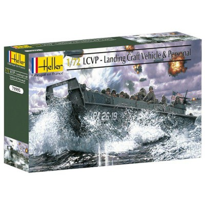Maquette LCVP : Landing Craft Vehicle & Personal - Heller-79995