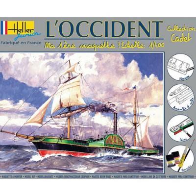 Maquette bateau: L'Occident: Ma première maquette - Heller-49062