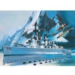 Maquette bateau: Lützow