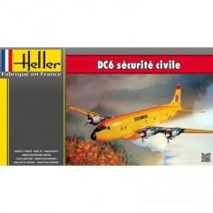 Maquette Avion : DC6 sécurité civile
