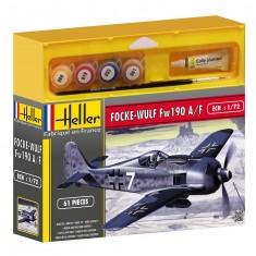 Maquette avion : Kit complet : Focke Wulf Fw 190 A/F