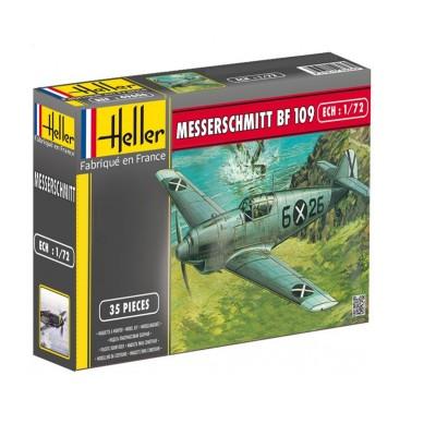Maquette avion : Messerschmitt BF109/B1 C1 - Heller-80236