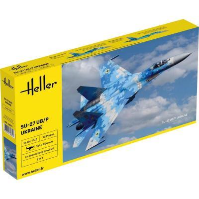 Maquette avion : Sukhoi Su-27 UB - Heller-80371