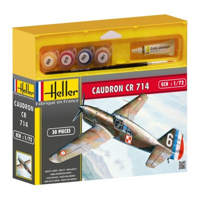 Maquette Avion Militaire : Caudron CR714 - Heller-50218