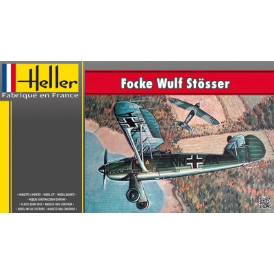 Maquette Avion Militaire : Focke Wulf FW56 Stösser - Heller-80238