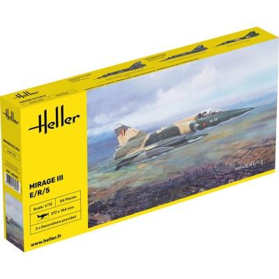 Maquette avion: Mirage III E /R / 5 BA - Heller-80323
