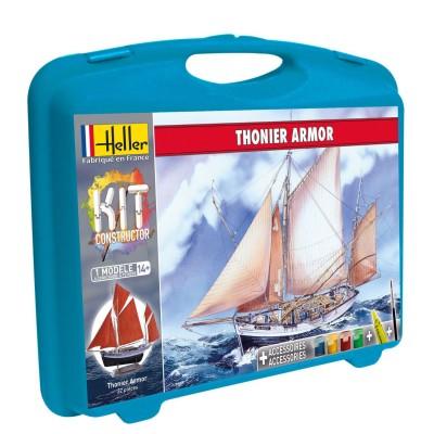 Maquette bateau : Mallette Thonier Armor - Heller-60609