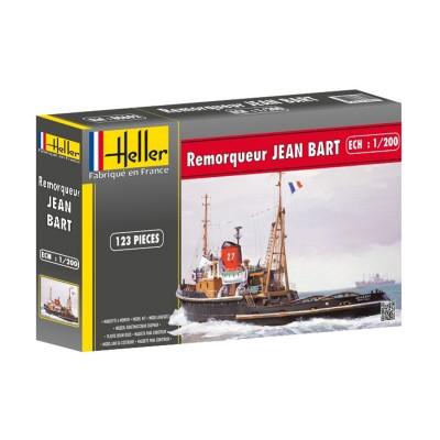 Maquette bateau : Remorqueur Jean Bart - Heller-80602