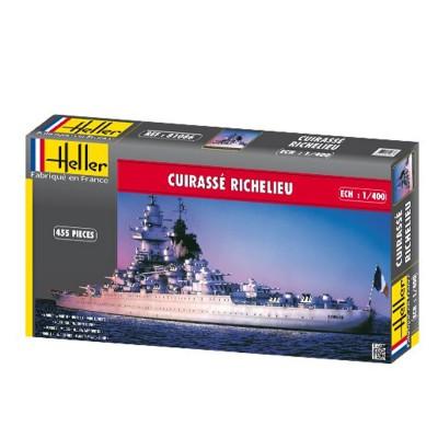 Maquette bateau Cuirassé Richelieu - Heller-81086