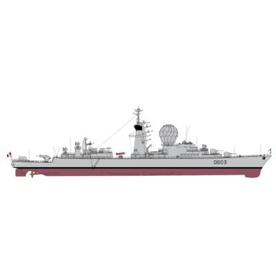 Maquette bateau: Duquesne - Heller-81008