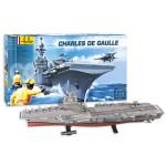 Maquette bateau: Kit complet: Porte-avions Charles de Gaulle