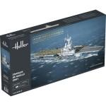Maquette bateau: Porte-avions Charles de Gaulle