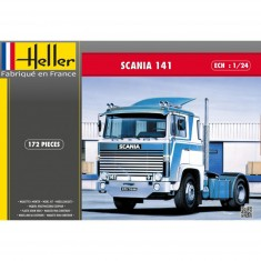 Maquette camion : Scania 141 Gervais