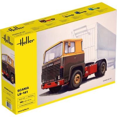 Maquette camion : Scania 141 Gervais - Heller-80773