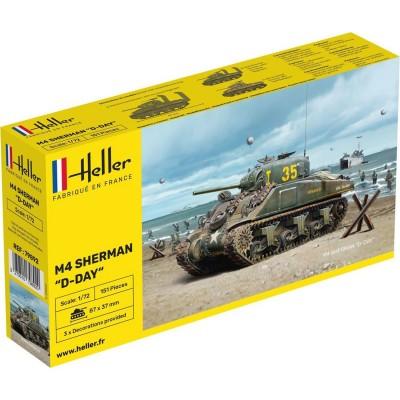 Maquette char SHERMAN - Heller-79892