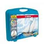 Maquette de bateau : Mallette Le Corsair