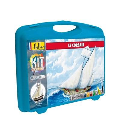 Maquette de bateau : Mallette Le Corsair - Heller-60616