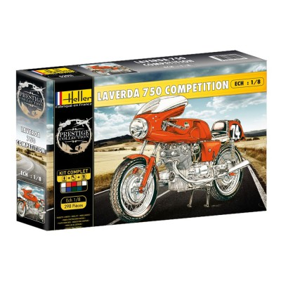 Maquette Moto : Kit Laverda 750 SFC - Heller-52911
