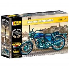 Maquette moto : Norton 750 Commando
