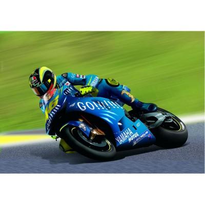 Maquette Moto: Kit complet 38 pièces : Yamaha YZR-M1 2004 - Heller-50927