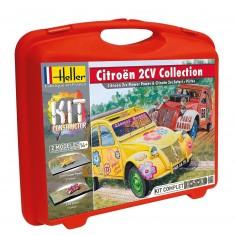 Maquette voiture : Citroën 2cv Collection