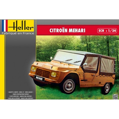 Maquette Voiture : Citroën Mehari - Heller-80760