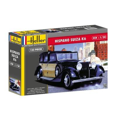 Maquette voiture : Hispano Suiza K6 - Heller-80704