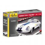 Maquette Voiture : Jaguar Type E Racing