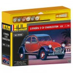 Maquette voiture : Kit complet : Citroën 2 CV Charleston
