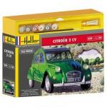 Maquette voiture : Kit complet : Citroën 2 CV