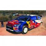 Maquette voiture : Kit complet 35 pièces : Citroën C4 WRC '10