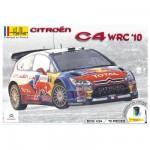 Maquette voiture : Kit complet 63 pièces : Citroën C4 WRC '10