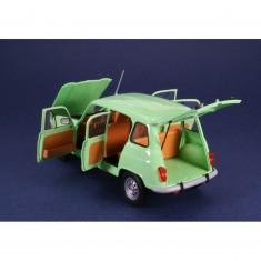 Maquette voiture : Kit complet Renault 4L GTL