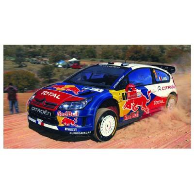 Maquette voiture 35 pièces : Citroën C4 WRC '10 - Heller-80117