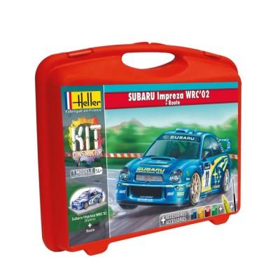 Maquette Voiture de course : Subaru (avec piste) - Heller-60199