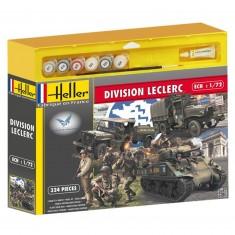 Maquettes 2ème guerre mondiale : Coffret 70ème anniversaire du débarquement Division Leclerc