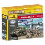 Maquettes 2ème guerre mondiale : Coffret 70ème anniversaire du débarquement Omaha Beach