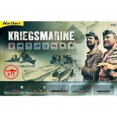 Maquettes bateaux: Coffret Kriegsmarine