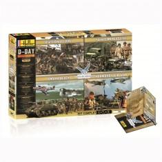 Maquettes Militaires : DDAY 70ème Anniversaire