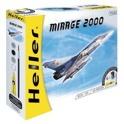 Maquette avion:  Kit complet: Mirage 2000C - Heller-50303
