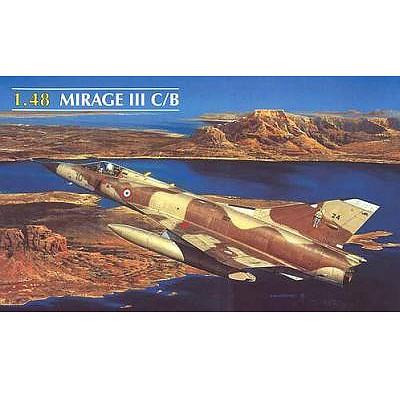 Maquette avion: Mirage III C/B - Heller-80411