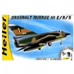 Maquette avion: Kit complet: Mirage III E/R/5