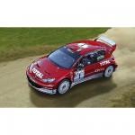 Maquette voiture : Peugeot 206 WRC 03