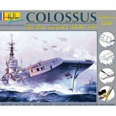 Maquette bateau: Porte-avions Colossus: Ma première maquette