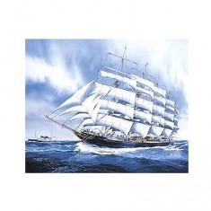 Maquette bateau: Preussen