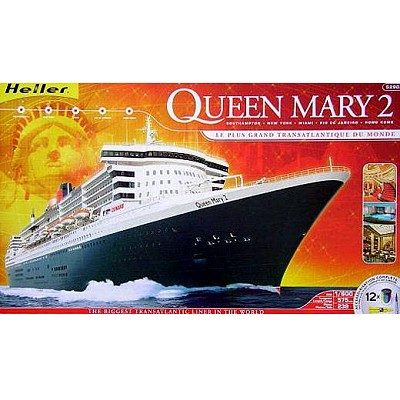 Maquette bateau : Queen Mary 2 - Heller-52902